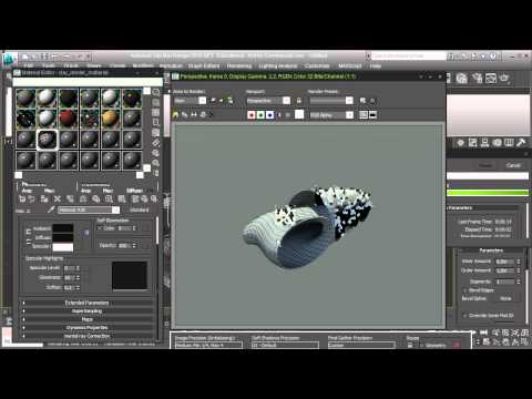 Clay rendering with 3DS Max using the Mental Ray render engine