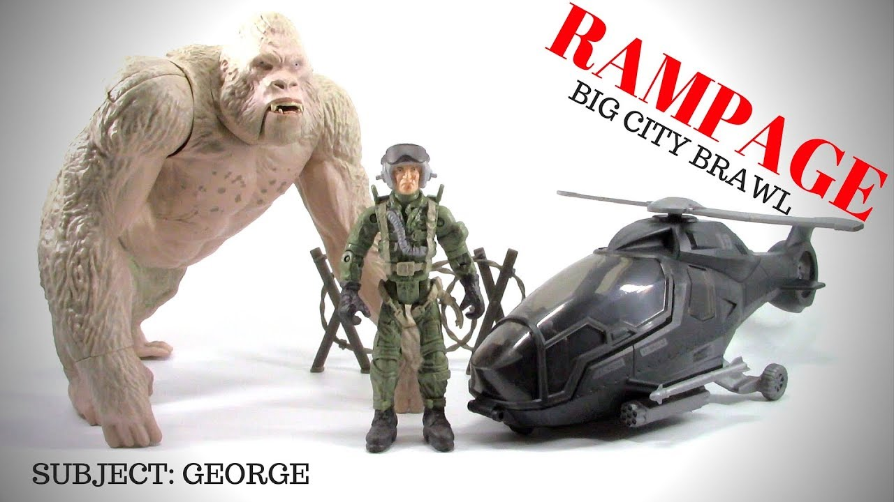 Rampage The Movie Big City Brawl George Set