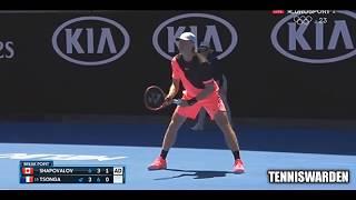 【テニス】J.W.ツォンガvsD.シャポバロフ 全豪オープン2018 2回戦