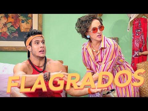 Máicol e a tia do Sanderson foram FLAGRADOS 😱  Vai Que Cola  Reprise   Humor Multishow