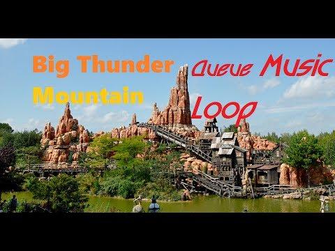 Big Thunder Mountain - Queue Music Loop - Disneyland Paris