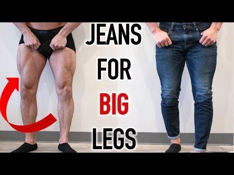 The BEST JEANS For BIG LEGS   Summer Shredding EP.10