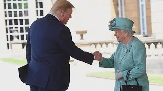 What Did Queen Elizabeth Say to President Trump?