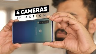 Samsung Galaxy A9's 4 Cameras in Action!