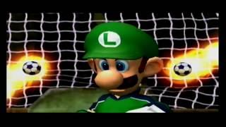 Super Mario Strikers (Luigi) Perfecte Super Strike /Exhibition Specials Nintendo (Gamecube/Wii