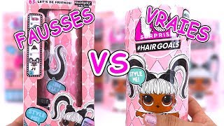 Fake LOL Surprise Dolls Fausses Poupées LOL #Hairgoals