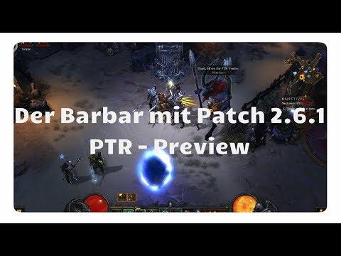 Diablo 3: Der Barbar mit Patch 2.6.1 (Sets, Items, PTR)
