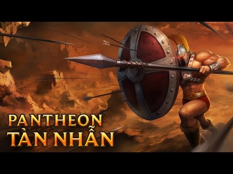 Pantheon Tàn Nhẫn - Ruthless Pantheon - Skins lol