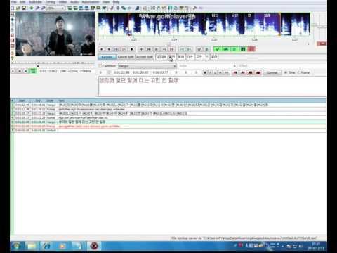 TUTORIAL Aegisub Karaoke Timing Tutorial^^