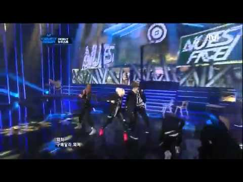 120315 - I'm Sorry & Face  NUEST ( M! Coutndown ) Debut Stage