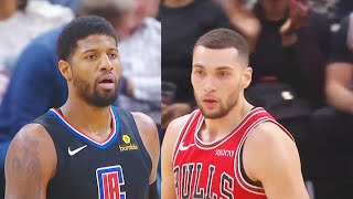 Clippers vs Bulls Unreal Final Minutes With Zach Lavine & Valentine Taking Over | Dec. 14, 2019