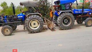 New holland 3630 vs Sonalika Sikandar 750 tractor tochan in Haryana