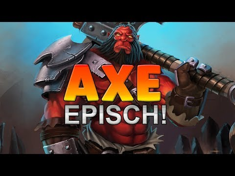 Extrem Spannend! - Dota 2 Gameplay German - Lets Play Axe