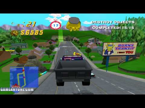 The Simpson's Road Rage Part 1 - Maddness thy name is Homer Simpson