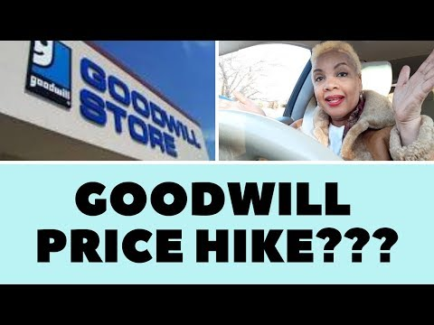GOODWILL PRICE HIKE! INSANE CLOTHING PRICES AT GOODWILL! CAR RANT!