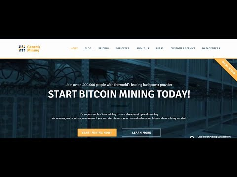 Genesis Mining Bitcoin Passive Income - $1,296 Per Year From A $350 Investment?