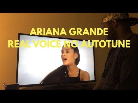 Download Ariana Grande Real Voice( Without Autotune) Reaction