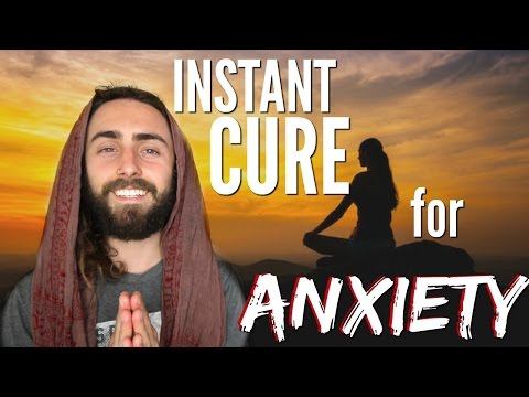 INSTANT Cure for Anxiety! (Peace of Mind in 3 Minutes or LESS)
