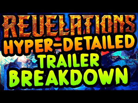 OFFICIAL REVELATIONS TRAILER HYPER-DETAILED BREAKDOWN: HIDDEN APOTHICON SECRETS (BO3 ZOMBIES DLC 4)
