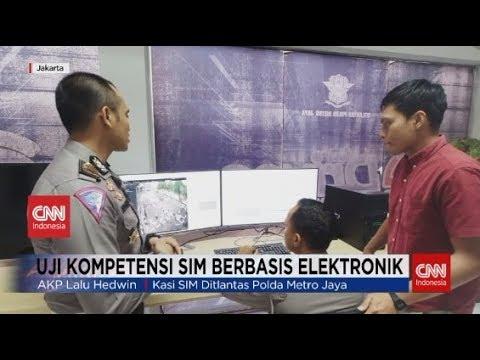 Uji Kompetensi SIM Berbasis Elektronik
