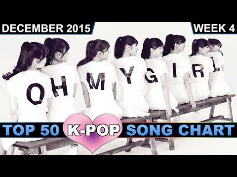 K-POP SONG CHART [TOP 50] DECEMBER 2015 (WEEK 4)