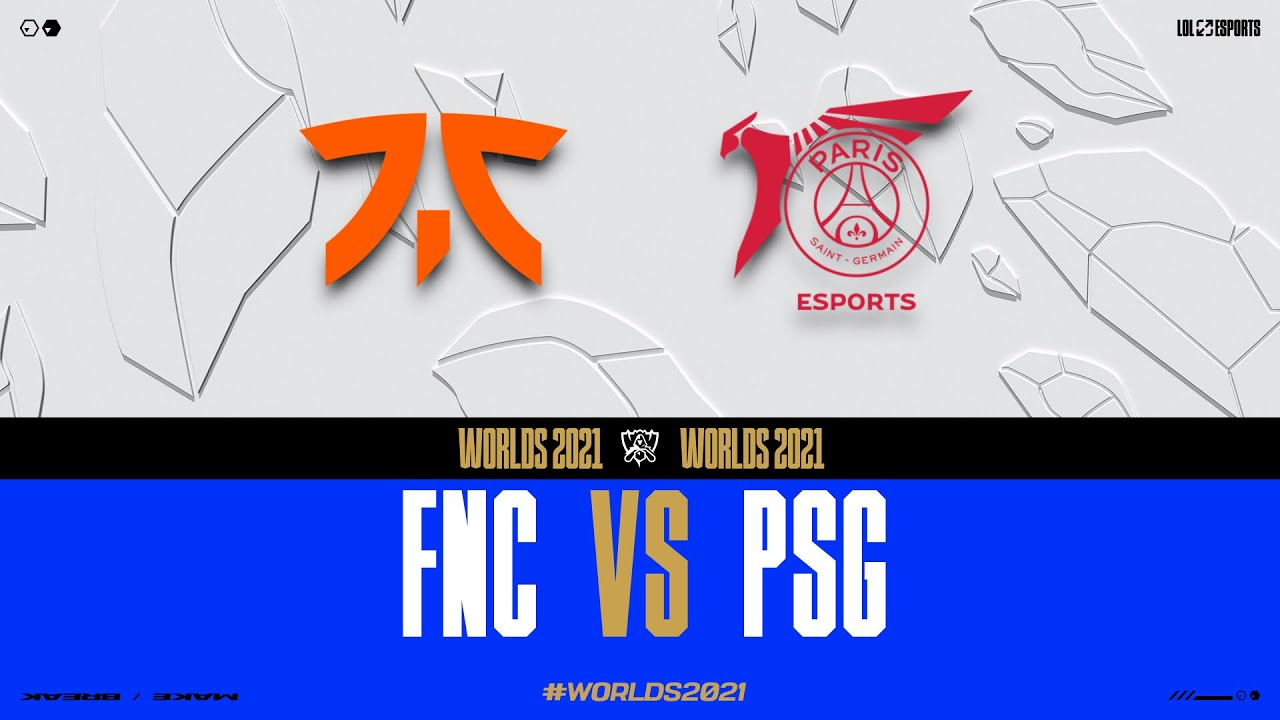 Download WORLDS 2021 - GROUPSTAGE DAY 6 - FNC vs PSG
