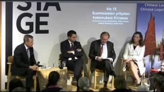 Suomalaisten yritysten kokemuksia Kiinassa