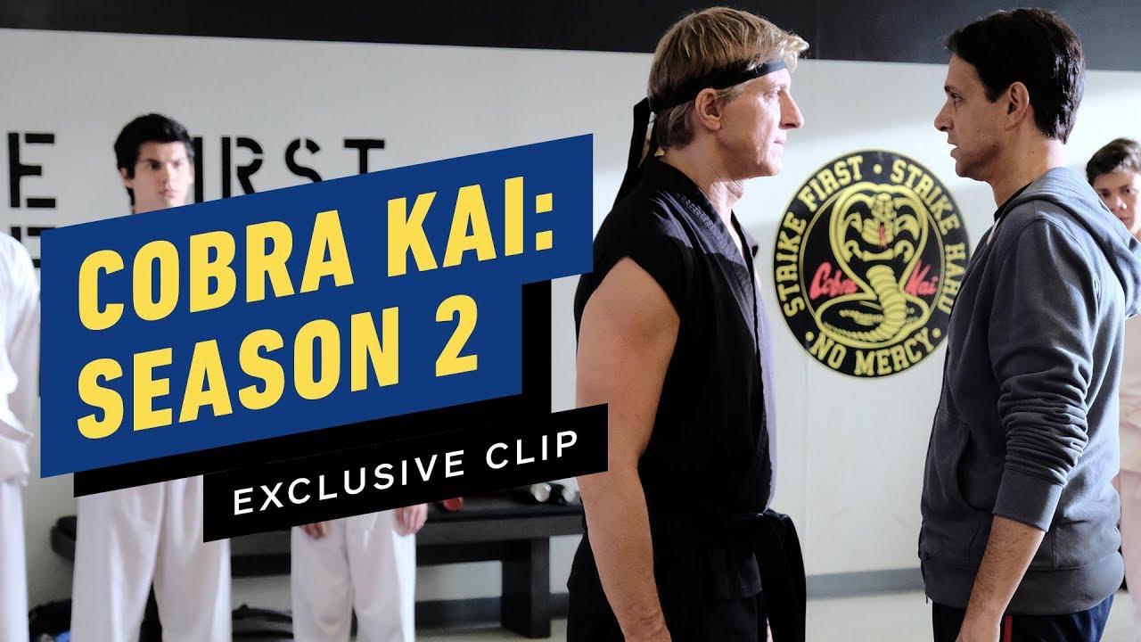 Cobra Kai Flashback