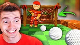 O JOGO DE FUTEBOL com GOLF!!! - Golf With Friends