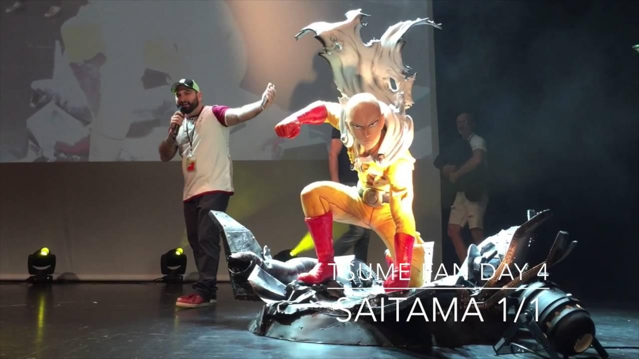 Tsume Fan Day 4 Saitama 1 From One Punch Youtube Art Chunli