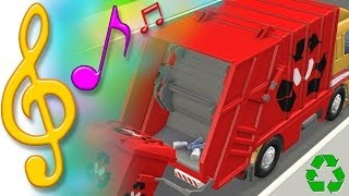 TuTiTu Songs | Garbage Truck Recycling Song | Songs for Children with Lyrics