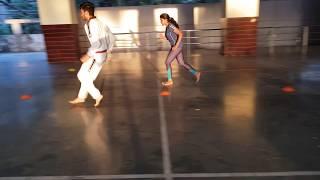 Taekwondo, Motor fitness Agility drill Part 1