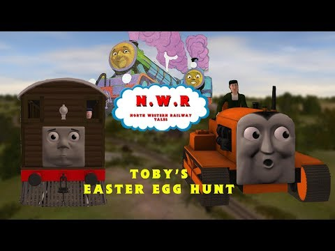 NWR Tales S7 Ep 3: Toby's Easter Egg Hunt - YouTube