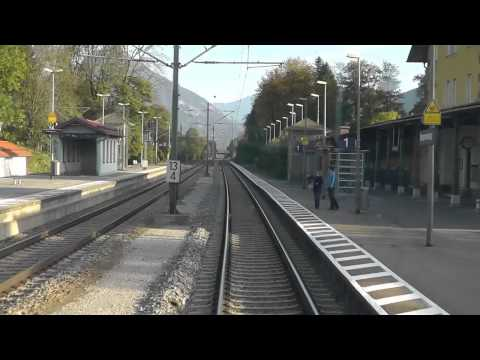 Führerstandsmitfahrt Rosenheim-Kufstein