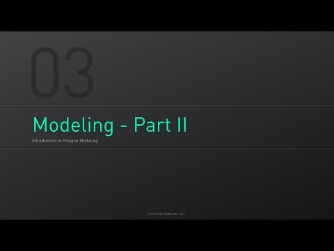 C4D Fundamentals | 03 - Introduction to Polygon Modeling