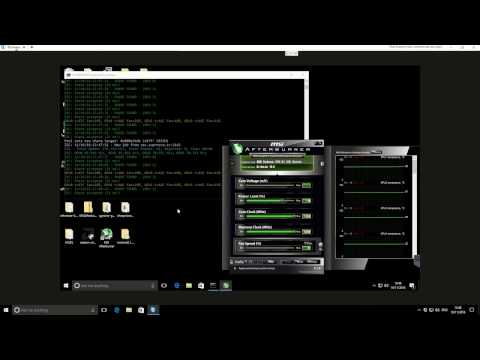 Claymores Zcash Miner V6 Tested On Elcheapo 4X R7 370 Rig