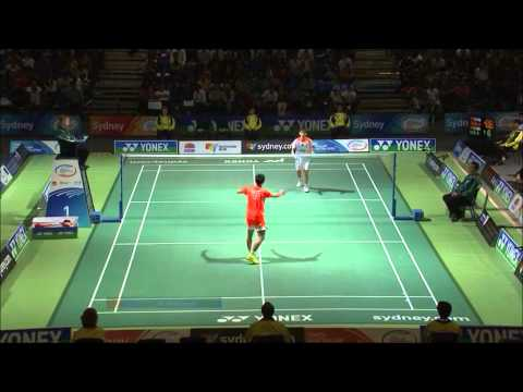 Badminton - chinese new stars 2013