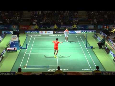 Badminton - chinese new stars 2013