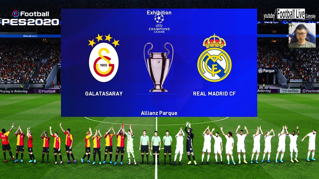 Pes 2020 Galatasaray Vs Real Madrid Uefa Champions League Ucl