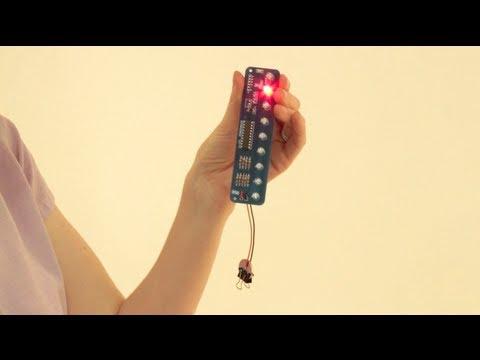 Kraftwerk-inspired LED Tie
