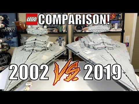 LEGO Star Wars UCS IMPERIAL STAR DESTROYER Comparison! (10030 Vs 75252 | 2002 Vs 2019)