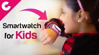 Smartwatch For Kids With GPS Tracking & Camera - QQ Watch Review