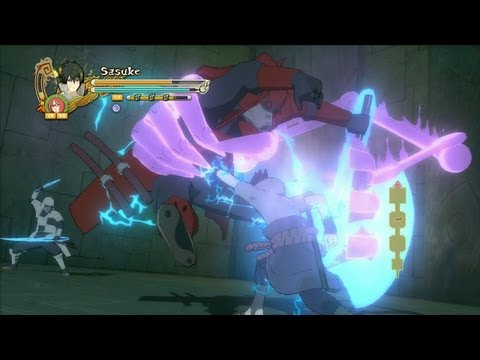 Naruto Shippuden Ultimate Ninja Storm 3 - Part 9 - Sasuke Uchiha Vs Samurai |