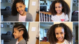 Braided Styles for Curly Hair | TheBaileySisters
