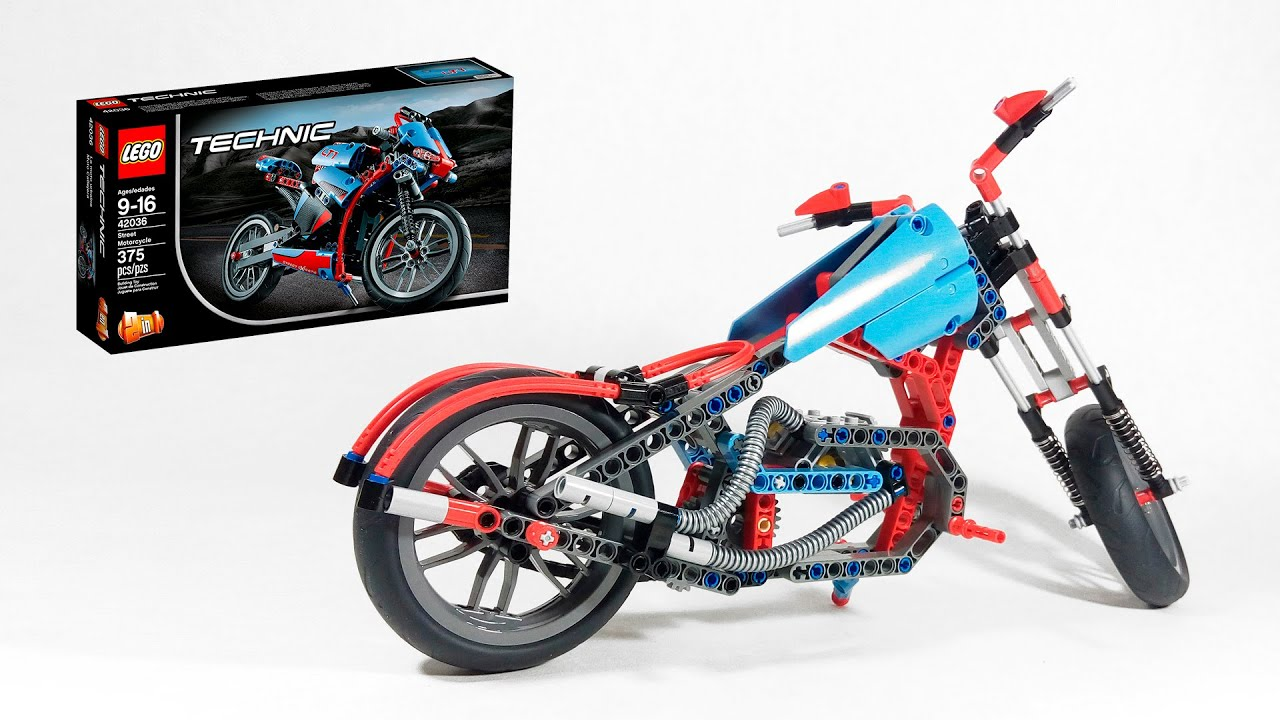 lego technic 42036 c model chopper. Black Bedroom Furniture Sets. Home Design Ideas