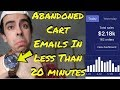 MAKING PROFITABLE ABANDONED CART EMAILS IN UNDER 20 MINUTES FOR FREE - Shopify Dropshipping 2018