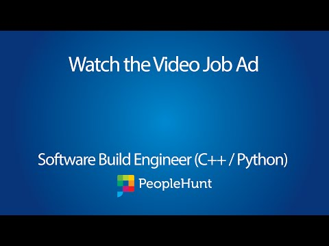 Software Build Engineer (C++ / Python)