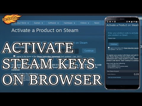 How to claim steam game keys on mobile or any browser! - YouTube