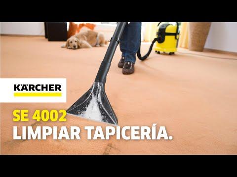 Karcher SE 4002, limpieza profunda para tu casa y tu coche