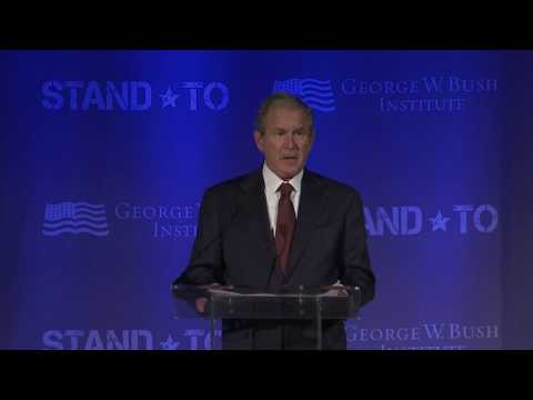 Stand-To: Remarks by President George W. Bush